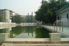 Ralenti de piscine handicapé Images libres de droits