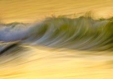 Ralentissez l'onde photographie stock libre de droits