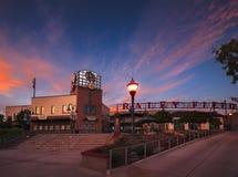 Raley Field Sunset royalty free stock photos