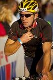 Ralf Schilke Racing in the Arizona Ironman Triathl Stock Photos