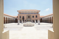 Ralimuseum in Israël stock afbeelding