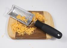 Rallador del queso Fotografía de archivo libre de regalías