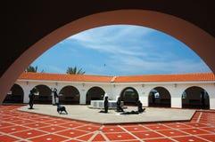 ralli för konstcaesarea klassisk israel museum arkivfoto
