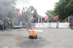 Rallies Front Door Surakarta City Hall Stock Photo