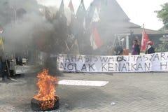 Rallies Front Door Surakarta City Hall Stock Photography