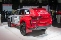 "Rally ""Baja Portalegre 500"" version of the Mitsubishi Outlander PHEV Royalty Free Stock Photos"