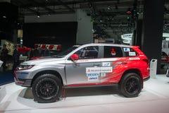 "Rally ""Baja Portalegre 500"" version of the Mitsubishi Outlander PHEV Royalty Free Stock Photography"