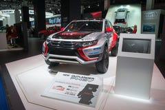 "Rally ""Baja Portalegre 500"" version of the Mitsubishi Outlander PHEV Stock Image"