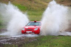 Rally Royalty Free Stock Photo