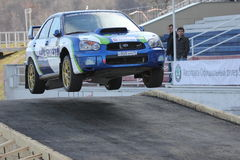 Rally. Master show in Moscow 2011 Stock Photography