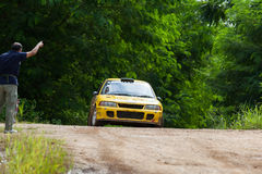 rally Foto de Stock Royalty Free