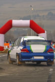 Rally action Stock Image