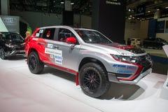 "Rally ""Baja Portalegre 500"" version of the Mitsubishi Outlander PHEV Stock Photo"