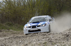 Rally car Royalty Free Stock Image