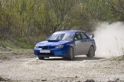 Rally Car Royalty Free Stock Photo