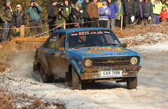 Rally Car Royalty Free Stock Photos