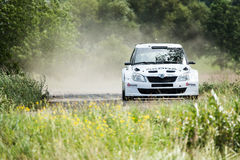 Rally car Royalty Free Stock Photo
