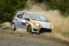 Rally Car in action Stock Photography