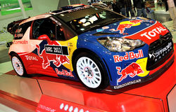 Rally Car B. Car Showroom in Autoshow 2010 October Istanbul Cnr Expo. Citroen stock photography