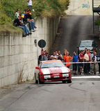 Rally car drifting. A car drifting during the Rally Legend in San Marino, Italy, 2006 stock images