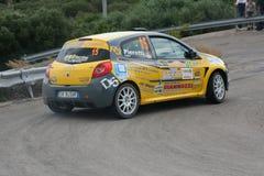 Rally car drifting Royalty Free Stock Photo
