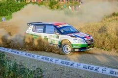 Rally Car Motorsport Stock Photo