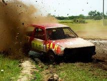 Rally car Stock Image