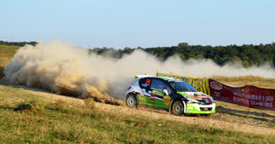 Rally Car Stock Images
