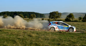 Rally Car royalty free stock images