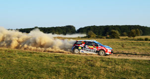 Rally Car stock image