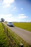 Rally car racing Stock Photos