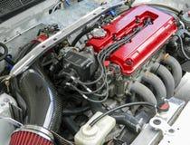 Rally car racing engine Stock Image