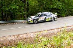 Rally car Szekesfehervar Hungary Stock Photo
