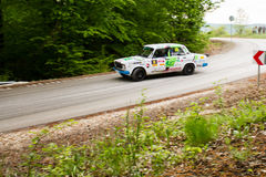 Rally car Szekesfehervar Hungary. 2016 Royalty Free Stock Photography