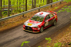 Rally car Szekesfehervar Hungary. 2016 Stock Photos