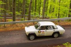 Rally car Szekesfehervar Hungary. 2016 Stock Image