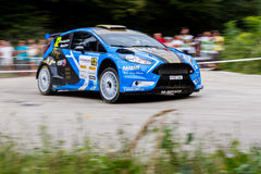 Rally car Szekesfehervar Hungary Stock Images