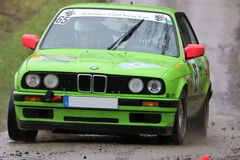 Rally car Royalty Free Stock Photos