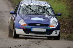 Rally car Royalty Free Stock Photography
