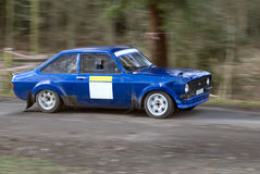 Rally car in Wales Stock Images