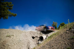 Rally car WRC Stock Photo