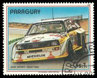 Rally cars, Audi Sport Quattro Royalty Free Stock Image