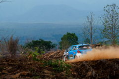 Rally cars,rally motorsport, F2 Thailand Rally Championship 2017,Classic car model and brand diversity. Join the championship in r Stock Photos