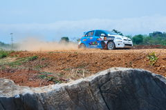Rally cars,rally motorsport, F2 Thailand Rally Championship 2017,Classic car model and brand diversity. Join the championship in r Royalty Free Stock Image