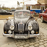 Rally of classical cars, Moscow Royalty Free Stock Photography