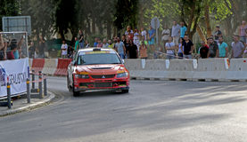 Rally Competition in Cyprus Royalty Free Stock Photo