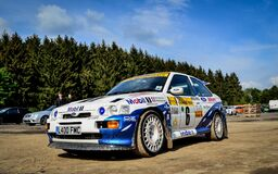 rally cossi Royalty Free Stock Image