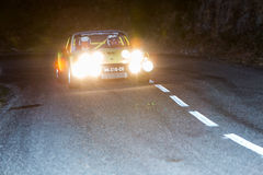 61 Rally Costa Brava. FIA European Historic Sporting Rally Champ Royalty Free Stock Image