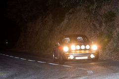 61 Rally Costa Brava. FIA European Historic Sporting Rally Champ Stock Image