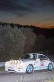 61 Rally Costa Brava. FIA European Historic Sporting Rally Champ. Ionship Stock Photography